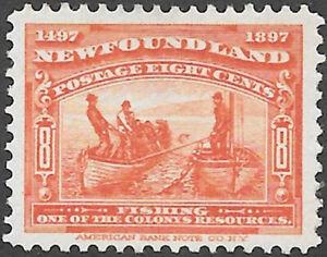 Newfoundland-Scott-Number-67-VF-H