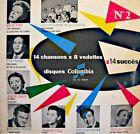 14 CHANSONS X 8 VEDETTES N°2 edith piaf/annie cordy/ulmer/bretonniere LP VG++
