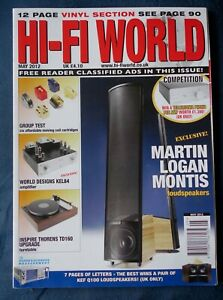 Details about HI-FI WORLD MAGAZINE MAY 2012- REVIEWS ON AMPS/ SPEAKERS/  TURNTABLE/ CARTRIDGES
