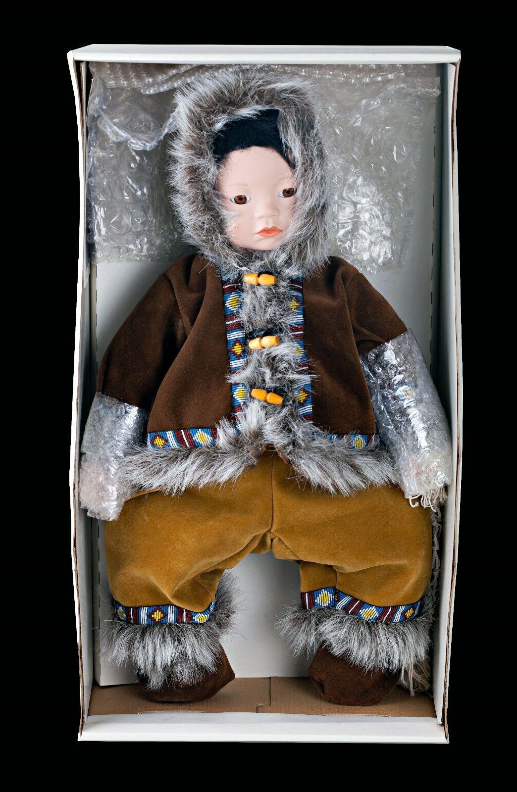 80% di sconto Nuovo ANOUK Moments Moments Moments Treasurosso Native Eskimo Boy Porcelain bambola 20  w  scatola e COA  memorizzare