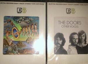 LOT-OF-2-THE-DOORS-8-TRACK-TAPES-NEW-SEALED-FULL-CIRCLE-OPEN-OTHER-VOICES