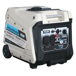 Pulsar 4000w Portable Inverter Generator W Electric Remote Start Pg4000isr 814726023225 Ebay