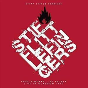 Stiff-Little-Fingers-Pure-Fingers-St-Patrix-Live-In-Glasgow-NEW-2-VINYL-LP