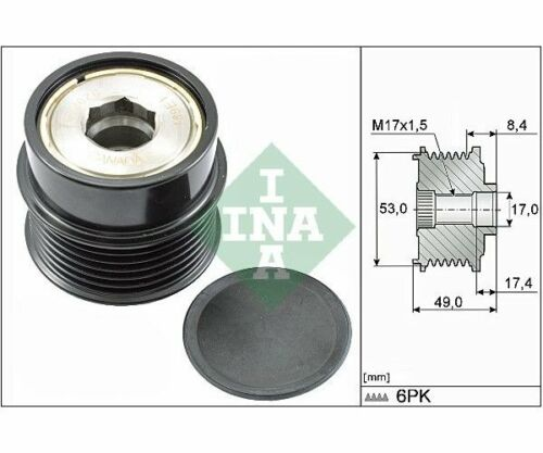INA Alternator Freewheel Clutch 535 0281 10