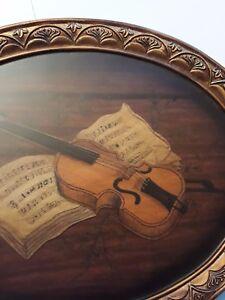 Violin-commemorative-plate