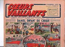 COEURS VAILLANTS 1942 n°42. Hergé. Tintin Le crabe aux Pinces d'Or.