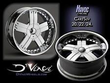 20 Inch Dvinci Havoc wheel Rims & Tires fit Chevy GMC Ford Cadillac Suburban