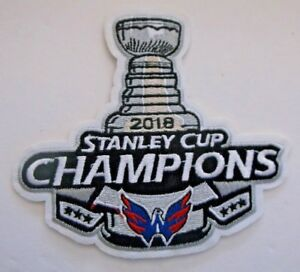 online store 19465 42d37 Details about Washington Capitals~2018 Stanley Cup Champions~PATCH~4 1/4