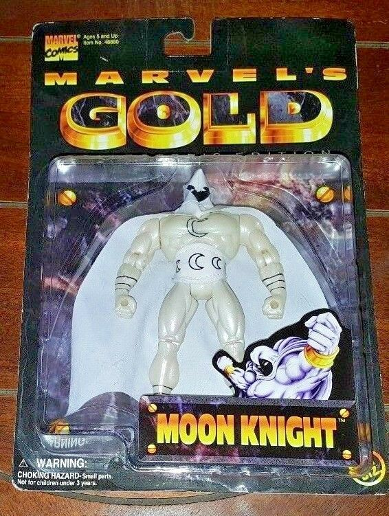 Marvel - comics marvel 's Gold collector' s edition  mond ritter action - figur.