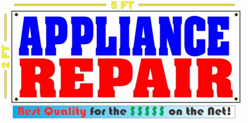 APPLIANCE REPAIR Banner Sign Dish Washer Dryer Stove Refrigerator Oven Microwave