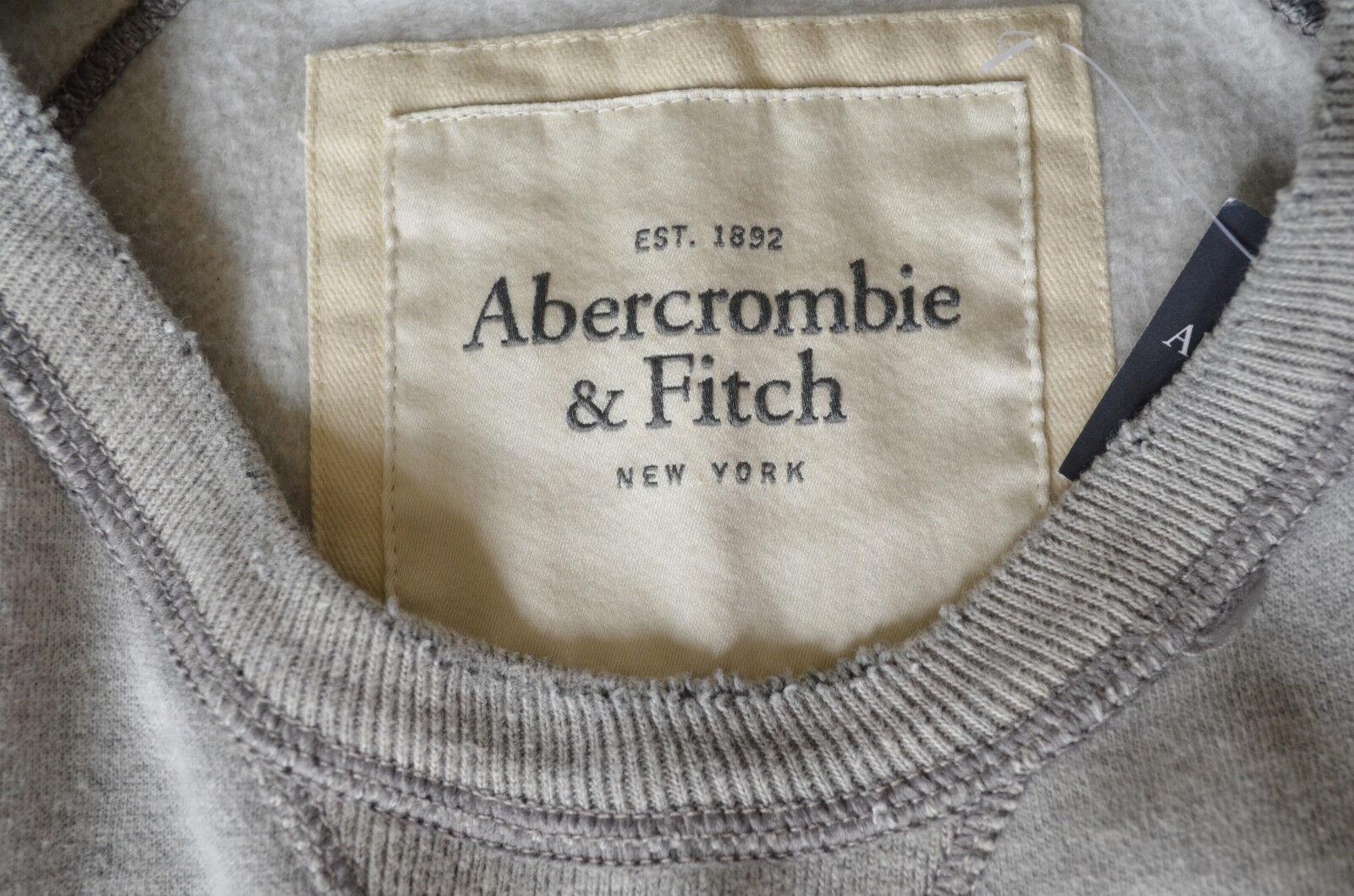 New abercrombie & & & fitch mount marshall détruit sweat à encolure ras-du-cou xl rrp £ 90 fdd0b5