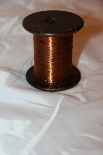 1pcs Copper wire isolated PEV-2 d=0,2mm 10m