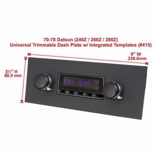 Classic Car Triumph Universal Car Radio Front Cover Cer Frame Retro Sound