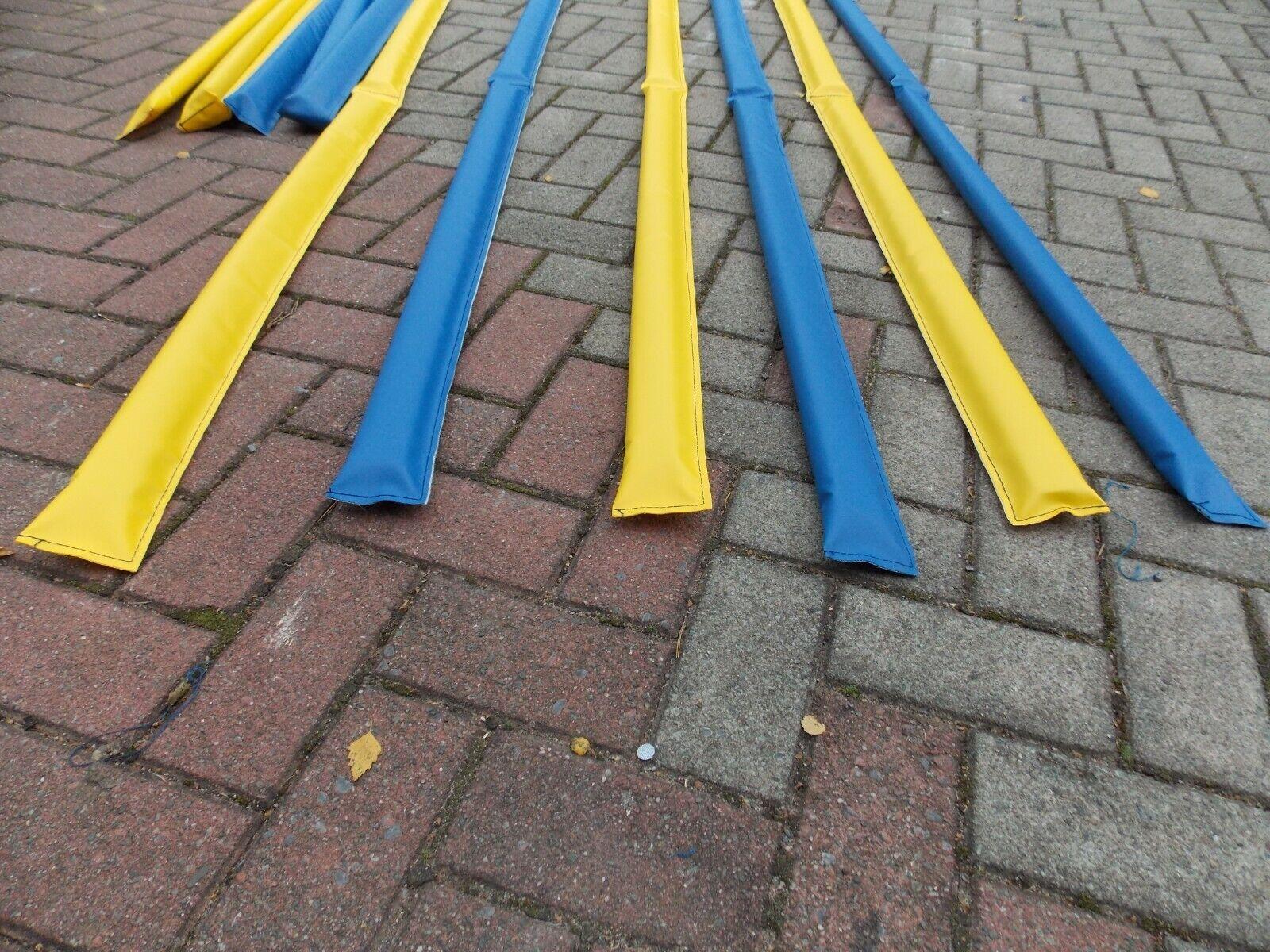 8 Stück gassen klappbar klappbar klappbar 4x gelb und 4x blau mit Tasche ähnlich Dualgassen..° de1282