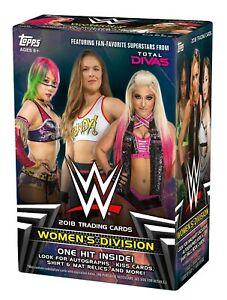 WWE-Topps-Women-039-s-Division-2018-Base-Set-Singles-20-off-3-Cards