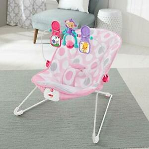 Pink Ellipse Fisher-Price Baby/'s Bouncer