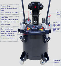 1 Pc 5 Gallon Pressure Feed Paint Pot Tank Pot Spray Gun Sprayer System Sale
