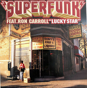 Superfunk-Feat-Ron-Carroll-CD-Single-Lucky-Star-SNA-Pressing-Europe-M-M