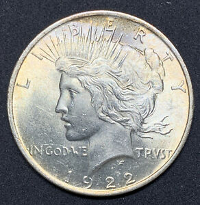 1922-P-Peace-Dollar-BU-Brilliant-Uncirculated-90-Silver