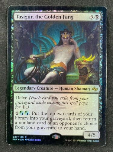the Golden Fang Fate Reforged HP MTG Magic The Gathering FOIL Tasigur