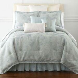 Royal Velvet 4 Pc Full Size Comforter Set Blue Frost Ebay