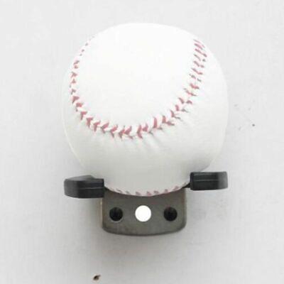 Black Baseball Bat Display Hanger Holder Wall Mount Rack Stand With Mounting Kit