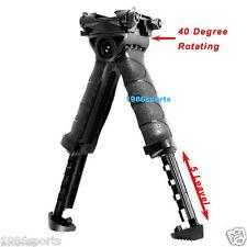 New Swivel Bipod Foldable Foregrip 20mm Picatinny Rail For Rifle #b11