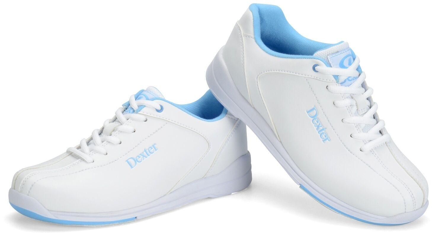 Dexter Raquel IV Women's Bowling shoes White bluee Wide Width