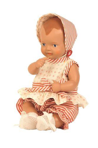 Schildkröt BABY BAMBOLE vestiti a strisce per 35 cm strampelchen 35645....