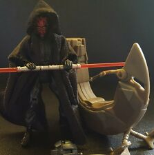 Star Wars TPM Movie Heroes Darth Maul w/ Sith Speeder Loose Figure Vehicle Lot