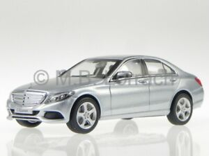 Mercedes-W205-C-Class-Exclusive-14-silver-diecast-model-car-Norev-1-43