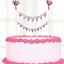 CHRISTENING-BOYS-or-GIRLS-BUNTING-CAKE-TOPPER-BANNER-DECORATIONS thumbnail 1