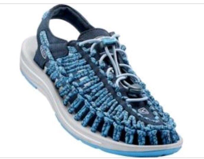 Uneek damen Midnight Blau Sling Back Sandals Uk Größe 6