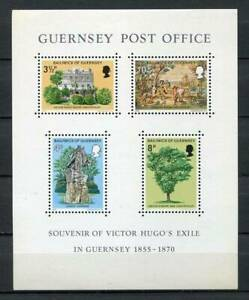 38670-Guernsey-1975-MNH-Victor-Hugo-S-S