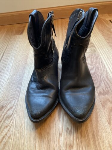Rare Golden Goose leather boots 37