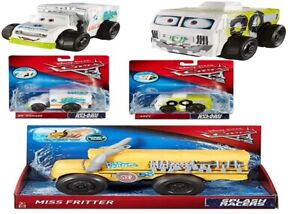 Disney-Cars-3-Splash-Racers-Miss-Fritter-Dr-Damage-Arvy-Ages-3-Toy-Play-Gift