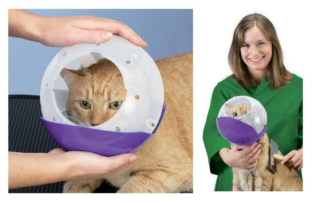 Dog & Cat Air Muzzle II Eliminate Potential Bites from Cats & Small Dogs Safe