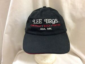 69fd87db0 Details about trucker hat baseball cap LEE BROS CARS ADA MN retro vintage  cool nice rare rave