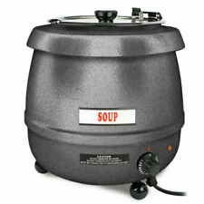Thunder Group 10 12 Quart Soup Warmer With Adjustable Temperature Control