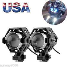 2X 125W Motorcycle CREE U5 LED Driving Headlight for Suzuki Intruder VS VL 750