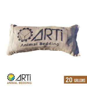 ARTi's Organic Biochar Bedding for Small Animals and Livestock