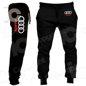 Pantalones-Audi-Racing-Deportes-de-motor-TT-A3-A4-A6-RS-Chandal-Q7-A8-Q2-Q3-Q5
