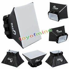 Universal Foldable Softbox Flash Diffuser Dome For Canon Nikon Sony Pentax