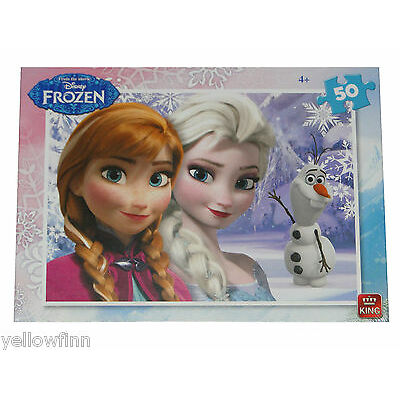 Disney Frozen Cars Planes Childrens Kids 50 Piece Jigsaw Puzzle Various Designs