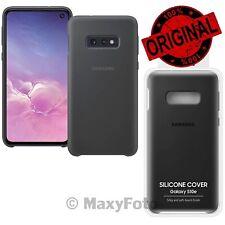 Custodia Originale Samsung in SILICONE EF-PG970T Cover Per Galaxy S10E SM-G970