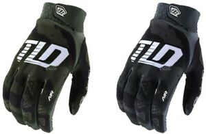 Troy-Lee-Designs-2020-Men-039-s-Air-MTB-Gloves-Camo-Gray-All-Sizes