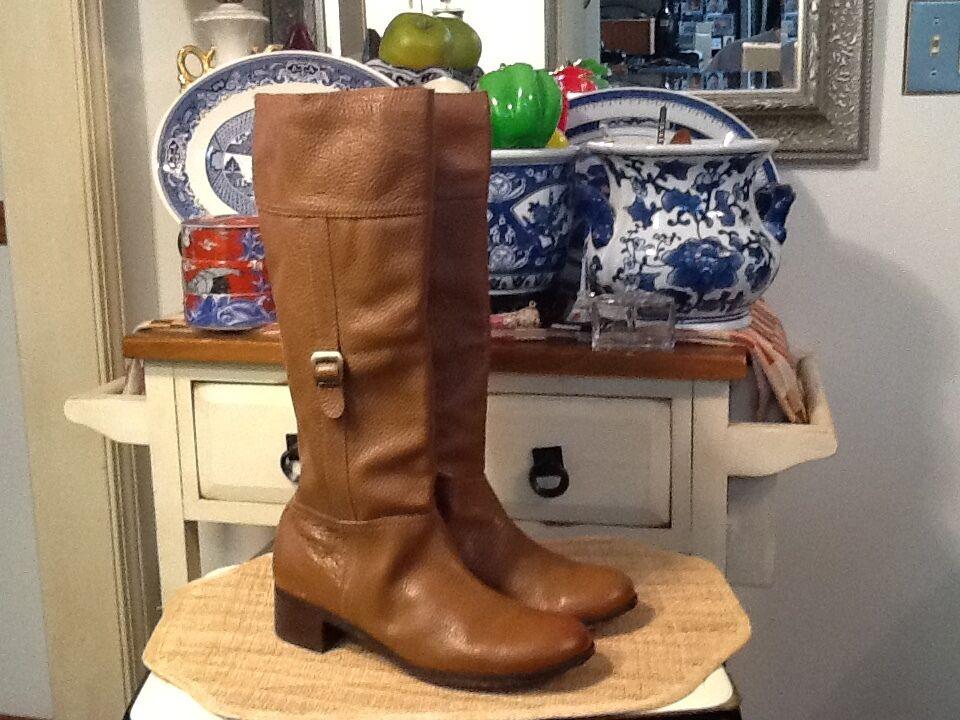 Terry Lewis Classic Luxuries Hautes En Cuir marron bottes Mode 10 m