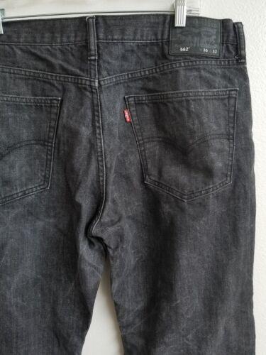 en noir denim fuselé coupe boutons à 562 ample de Jeans Levi's qtP7ST5cwW