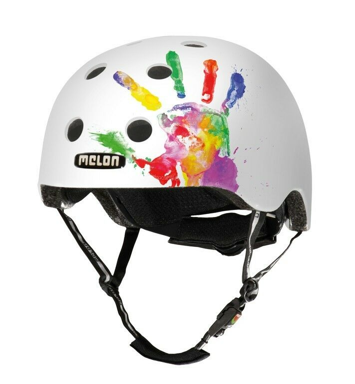 Melon Urban Active Story Bike Helmet Handprint