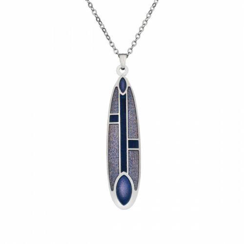Sea Gems Enamel Necklace Mackintosh Brand New